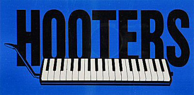 The Hooters Sticker  : Blue