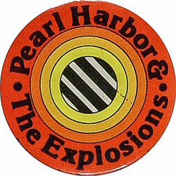 "Pearl Harbor and the Explosions Vintage Pin  : 1 1/4"" x 1 1/4"" Pin"