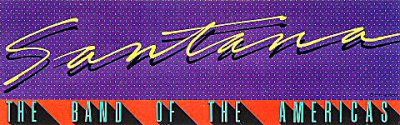 Santana Sticker  : Bumper Sticker