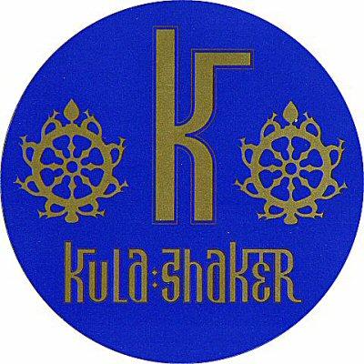 Kula Shaker Sticker  : Promo Sticker