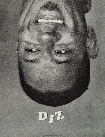 """Dizzy Gillespie Poster  : 17"""" x 22"""""""