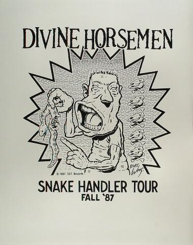 """Divine Horsemen Poster  : 23"""" x 29"""""""