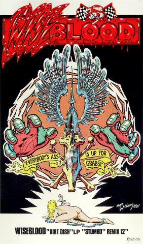 "Wiseblood Poster  : 11 1/2"" x 19 1/4"""