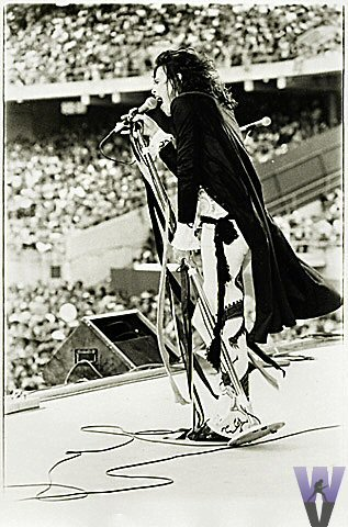 Steven Tyler Vintage Print  : 8x10 Silver Gelatin