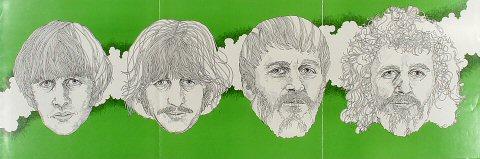 "Ringo Starr Poster  : 12"" x 36"""