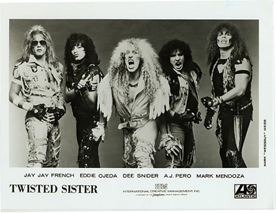 Twisted Sister Promo Print  : 8x10 RC Print