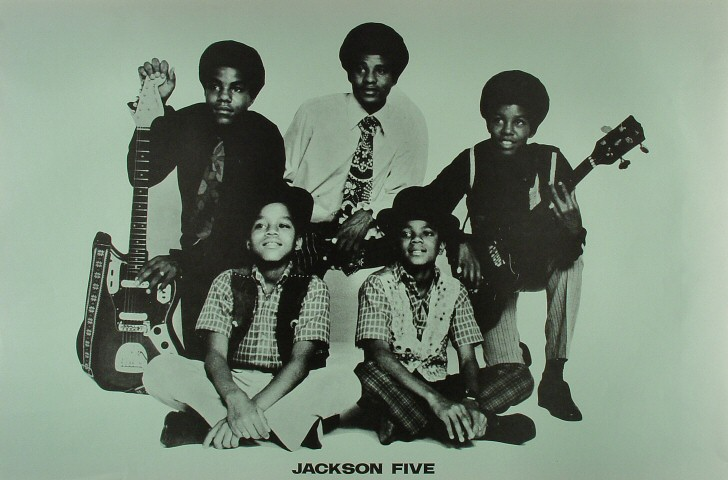 "The Jackson 5 Poster  : 23"" x 35"""
