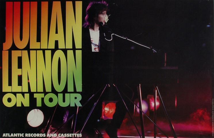 "Julian Lennon Poster  : 17 1/2"" x 27 1/8"""