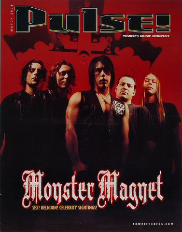 "Monster Magnet Poster  : 17 3/4"" x 22 1/2"""
