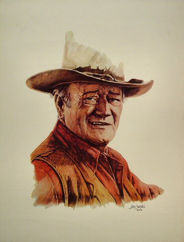 """John Wayne Poster  : 20 1/2"""" x 26 5/8"""""""