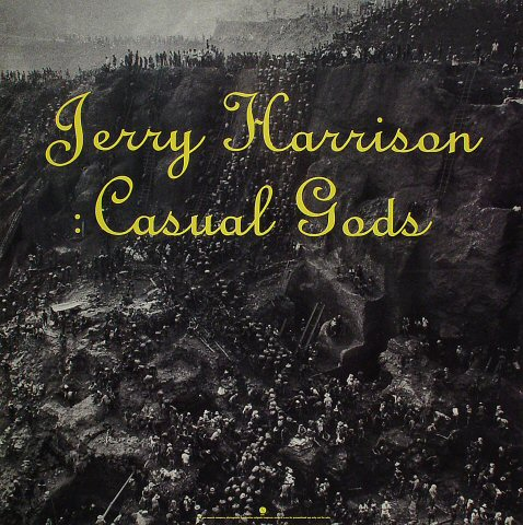 "Jerry Harrison Poster  : 23"" x 23"""