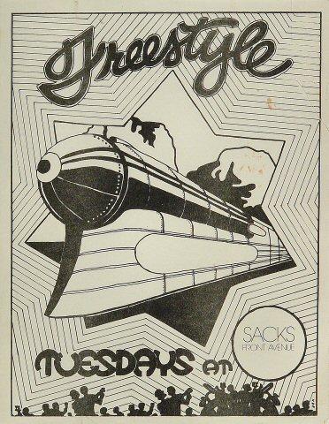 "Freestyle Handbill  : 8 1/2"" x 11"""