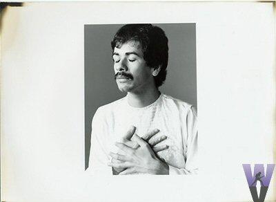 Carlos Santana Vintage Print  : 8x11 Silver Gelatin