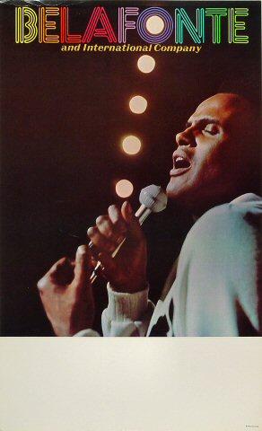 "Harry Belafonte Poster  : 14"" x 23"""