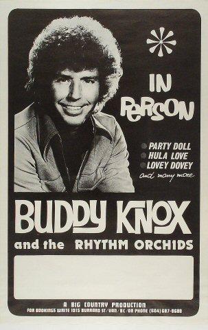 "Buddy Knox Poster  : 16 3/16"" x 25"""