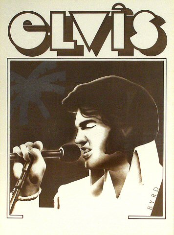 "Elvis Presley Poster  : 25 1/16"" x 34"""