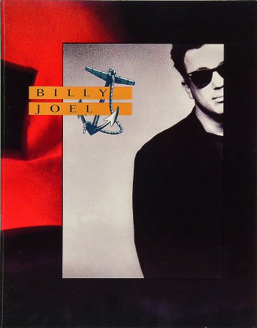 "Billy Joel Program  : 11"" x 14"""