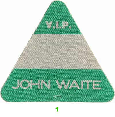 John Waite Backstage Pass  : Pass 1