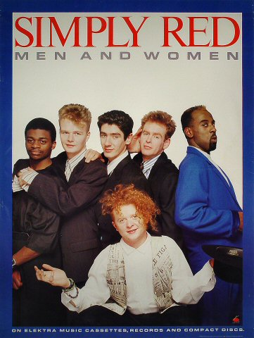 """Simply Red Poster  : 24"""" x 32"""""""