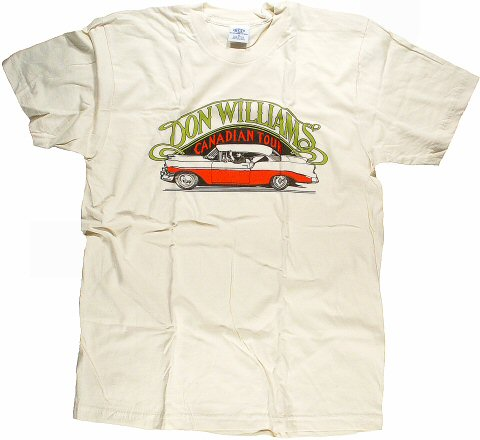 Don Williams Women's Retro T-Shirt  : Large
