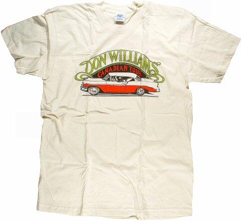 Don Williams Women's Retro T-Shirt  : X Large