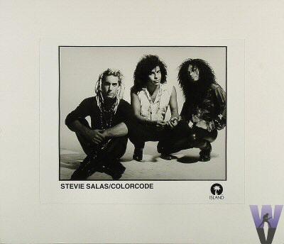 Stevie Salas Promo Print  : 8x10 RC Print Mounted