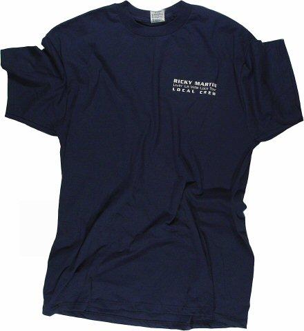 Ricky Martin Men's Vintage T-Shirt  : X Large