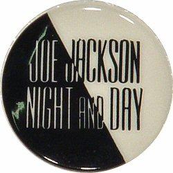 "Joe Jackson Vintage Pin  : 7/8"" x 7/8"" Pin"