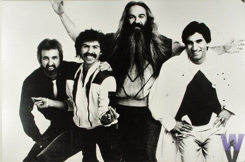 The Oak Ridge Boys Vintage Print  : 20x30 Silver Gelatin Mounted