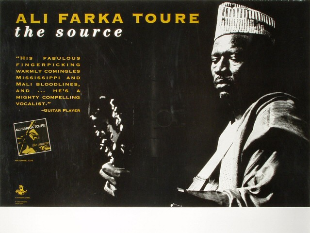 "Ali Farka Toure Poster  : 18"" x 24"""
