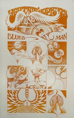 """Lightnin' Hopkins Poster  : 14"""" x 22"""""""