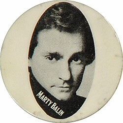 "Marty Balin Vintage Pin  : 1 3/8"" x 1 3/8"" Pin"