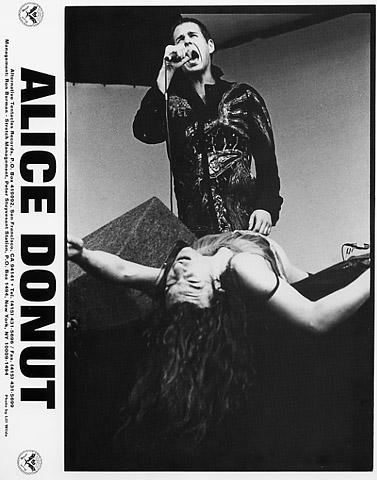 Alice Donut Promo Print  : 8x10 RC Print