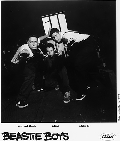 Beastie Boys Promo Print  : 8x10 RC Print