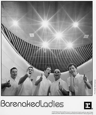 Barenaked Ladies Promo Print  : 8x10 RC Print