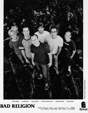 Bad Religion Promo Print  : 8x10 RC Print