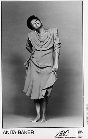 Anita Baker Promo Print  : 8x10 RC Print