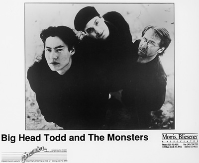 Big Head Todd & The Monsters Promo Print  : 8x10 RC Print