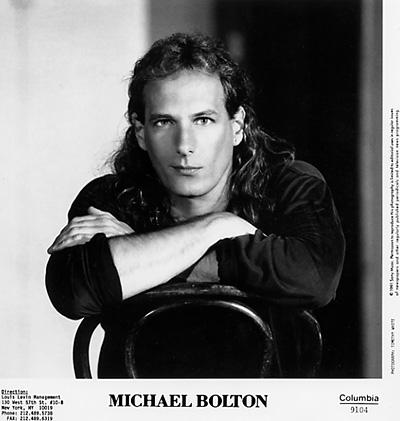 Michael Bolton Promo Print  : 8x10 RC Print