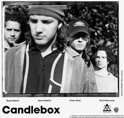 Candlebox Promo Print  : 8x10 RC Print