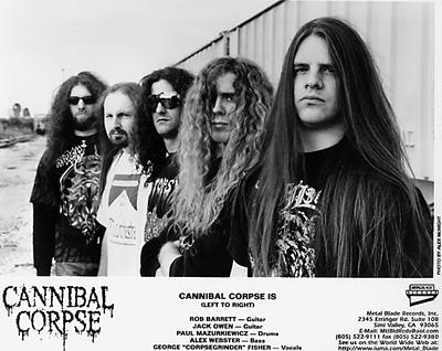 Cannibal Corpse Promo Print  : 8x10 RC Print
