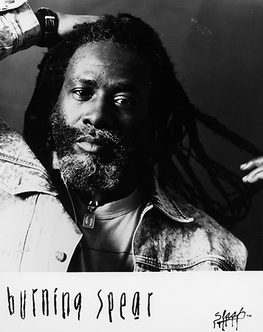 Burning Spear Promo Print  : 8x10 RC Print