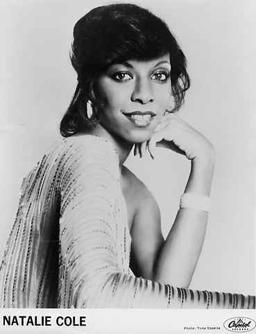 Natalie Cole Promo Print  : 8x10 RC Print