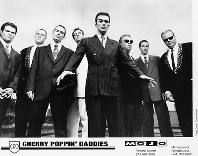 Cherry Poppin' Daddies Promo Print  : 8x10 RC Print