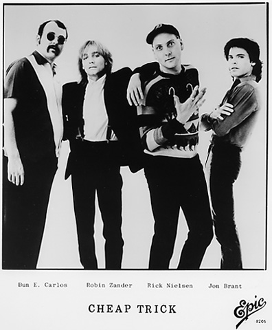 Cheap Trick Promo Print  : 8x10 RC Print