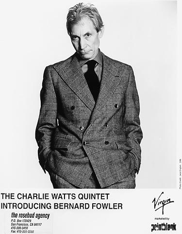 Charlie Watts Promo Print  : 8x10 RC Print