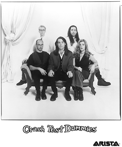 Crash Test Dummies Promo Print  : 8x10 RC Print