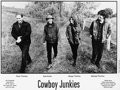 Cowboy Junkies Promo Print  : 8x10 RC Print