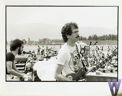 Carlos Santana Vintage Print  : 8x10 Silver Gelatin