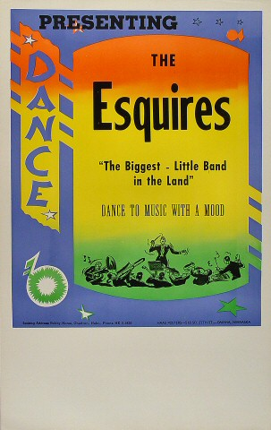 "The Esquires Poster  : 14"" x 22"""